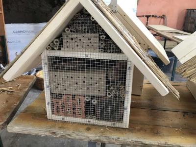 Bienenhotelbau